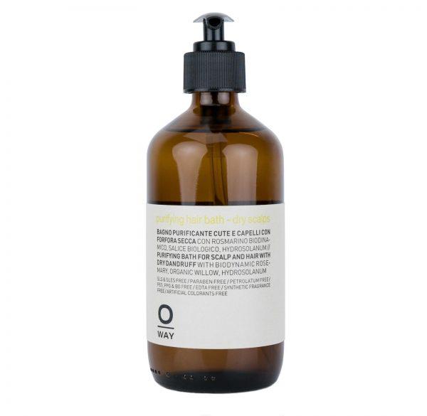 purifying-dry-scalps_Bain lénitif et purifiant pour cuir chevelu et cheveux ayant des pellicules sèches.240ml 27,00eur